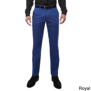 Zonettie by Ferrecci Cotton/Spandex Straight-leg Business-casual Chino Pants