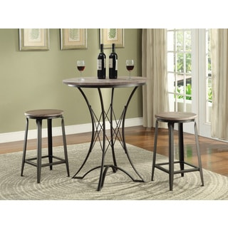 Coaster Company Black 3-piece Bar Height Dining Set