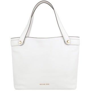 Michael Kors Hyland Optic White Medium Convertible Tote Bag