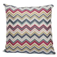 Jacquard Woven Polyester 20-inch x 20-inchThrow Pillow