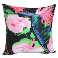 Floral 20-inch x 20-inch Throw Pillow