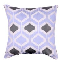 Benton 100-percent Cotton 18-inch x 18-inch Embroidered Throw Pillow
