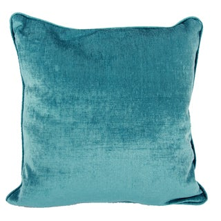 Bue Polyester Accent 20-inch Square Throw Pillow