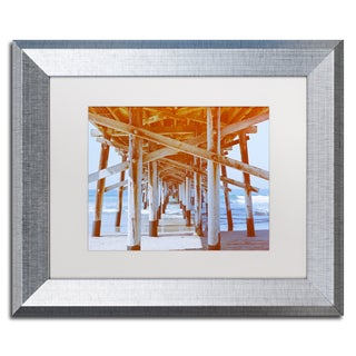 Ariane Moshayedi 'Under Pier' Matted Framed Art