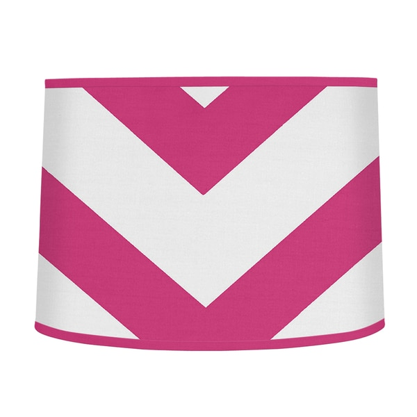 Sweet Jojo Designs Pink And White Chevron Large Lamp Shade Free Shipping On Orders Over 45 12384956