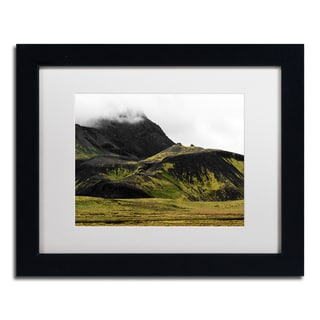 Philippe Sainte-Laudy 'Black Mountains' Matted Framed Art