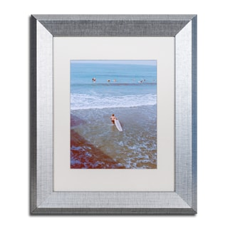 Ariane Moshayedi 'Surfer' Matted Framed Art