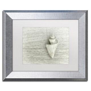 Cora Niele 'Japanese Wonder Shell' Matted Framed Art