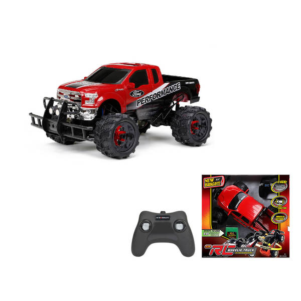456c48530087 Shop New Bright 1 14 R C Full-function Wheelie 6.4 V Ford Raptor Toy - Free  Shipping Today - Overstock - 12385044