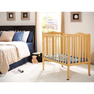 Delta Children Natural Finish Portable Crib