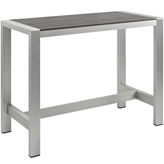 Outdoor Patio Aluminum Bar Table
