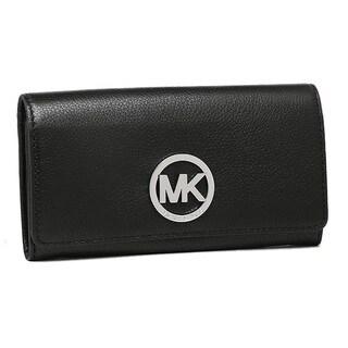 Michael Kors Fulton Carryall Wallet - Black (Option: Black)