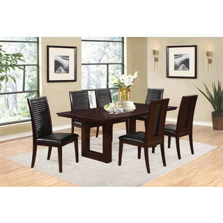 Coaster Company Double Pedestal Cherry Dining Table