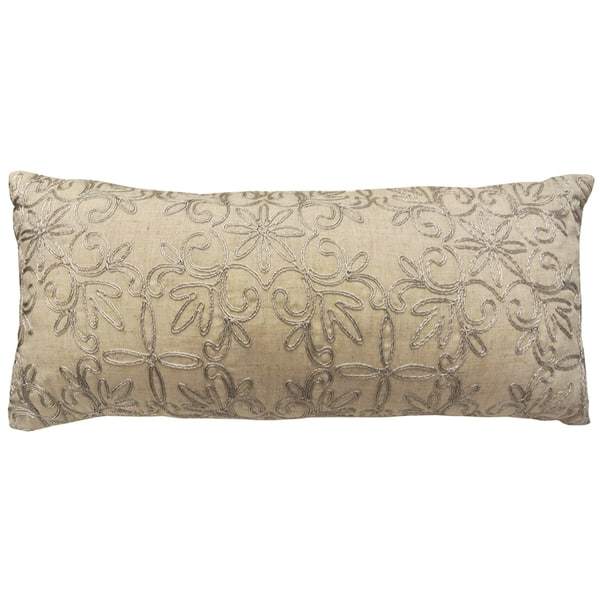 Bolster Decorative 12 Inch X 26 Throw Pillow Cover