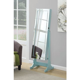 Coaster Company Blue Jewelry Cheval Mirror