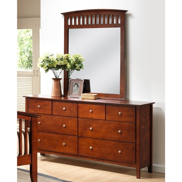 LYKE Home Janet Dresser and Mirror Set - Free Shipping ...