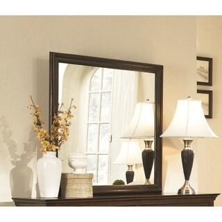 Tatiana Brown Wood Framed Mirror