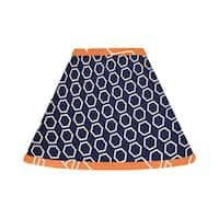 Sweet Jojo Designs Orange and Navy Blue Arrow Lamp Shade