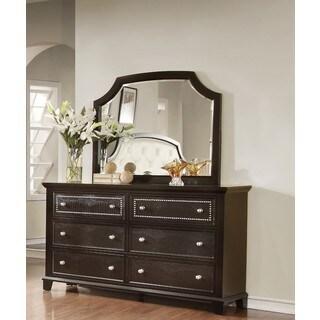 LYKE Home Metra Dresser and Mirror Set
