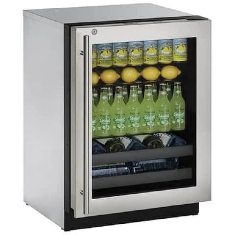 3000 Series 3024BEV - 24 Inch Stainless Steel Beverage Center w/ Lock