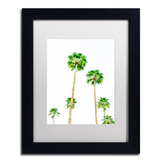 Ariane Moshayedi 'Palms 6' Matted Framed Art
