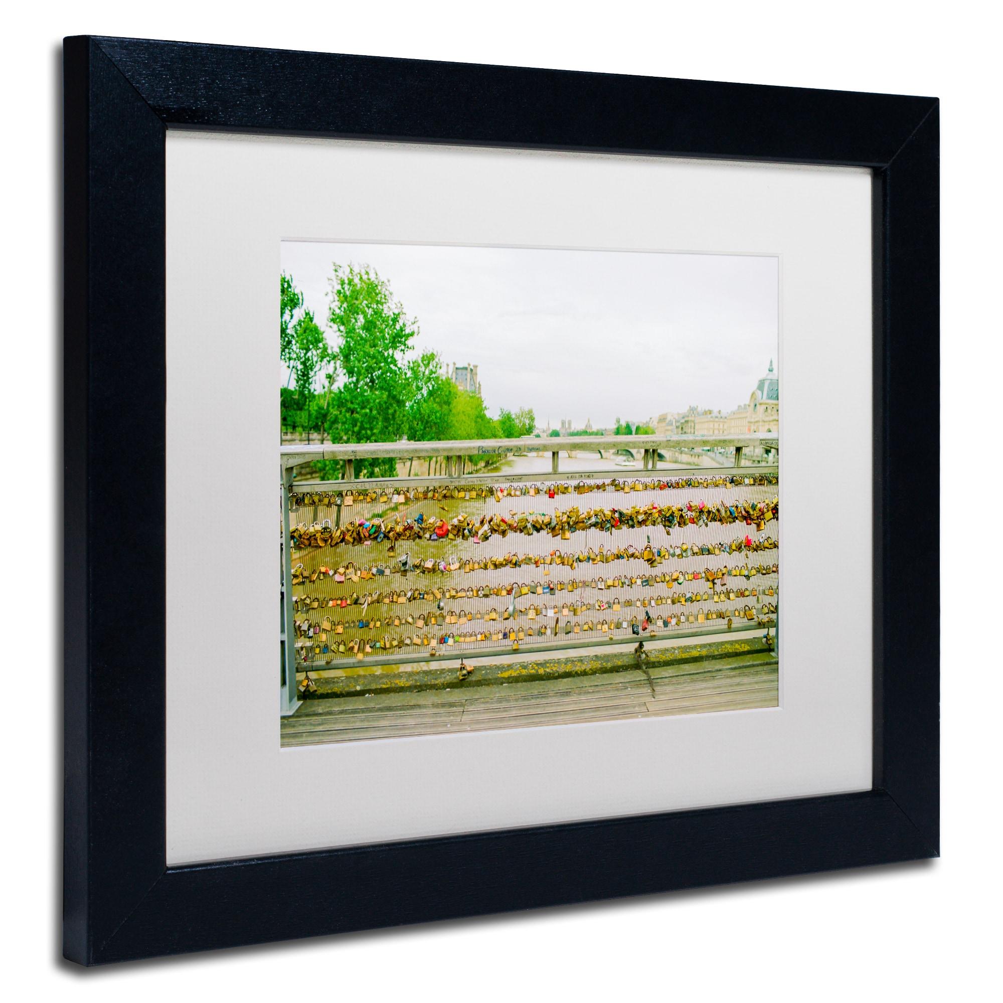 Ariane Moshayedi Paris Locks Love 2 Matted Framed Art Overstock 12385882