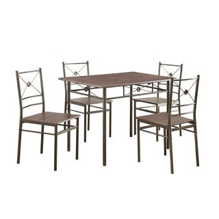 Coaster Company Walnut 5-piece Dinette Set