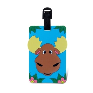 Puzzled Taggage Moose Luggage Tag