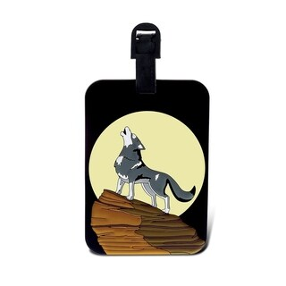 Puzzled Taggage Wolf Luggage Tag