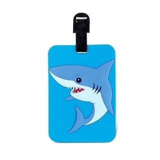 Puzzled Taggage Plastic Shark Luggage Tag