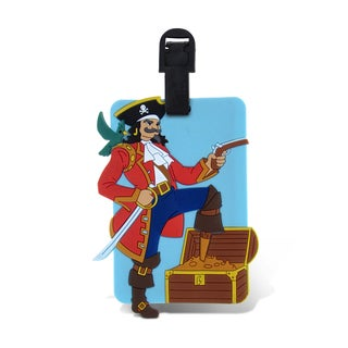 Taggage Pirate Captain Luggage Tag
