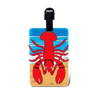 Puzzled Taggage. Lobster Luggage Tag