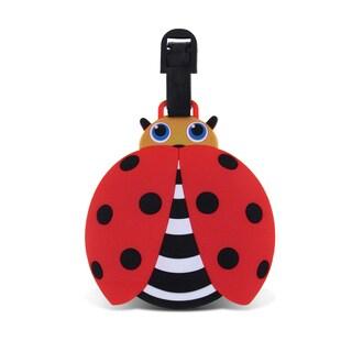 Taggage Multicolor Plastic Ladybug Luggage Tag