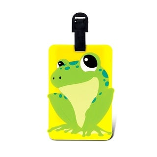 Puzzled Taggage Frog Luggage Tag