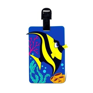 Puzzled Taggage. Angel Fish Luggage Tag