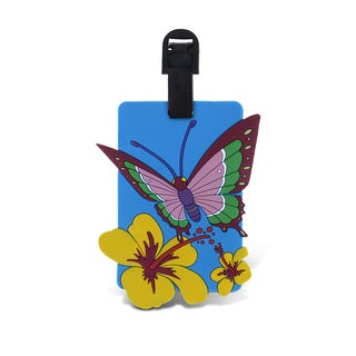 Puzzled Taggage Butterfly Luggage Tag