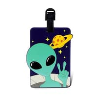 Puzzled Taggage Alien Luggage Tag