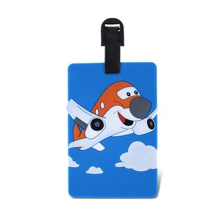 Puzzled Taggage Airplane Plastic Luggage Tag