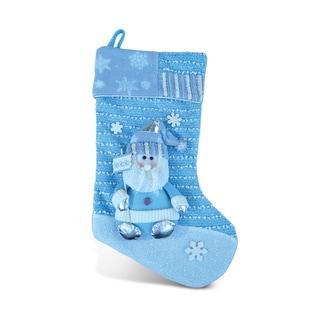 Puzzled Inc. Blue Santa Stocking