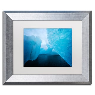 Philippe Sainte-Laudy 'Only Blue' Matted Framed Art