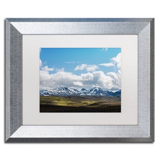 Philippe Sainte-Laudy 'Empire of the Clouds' Matted Framed Art