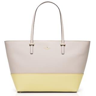 Kate Spade New York Cedar Street Mini Harmony Crisp Linen/Lemonade Shoulder Handbag