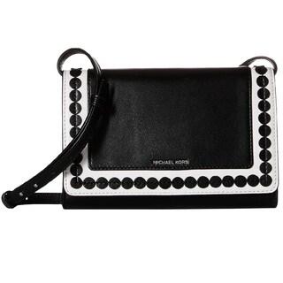 Michael Kors Analise Black/White Medium Crossbody Handbag