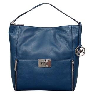 Michael Kors Large Sloan Navy Shoulder Handbag