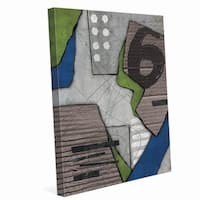 Chaos Collage' Canvas Wall Art