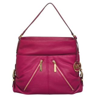 Michael Kors Large Portland Deep Pink Shoulder Handbag
