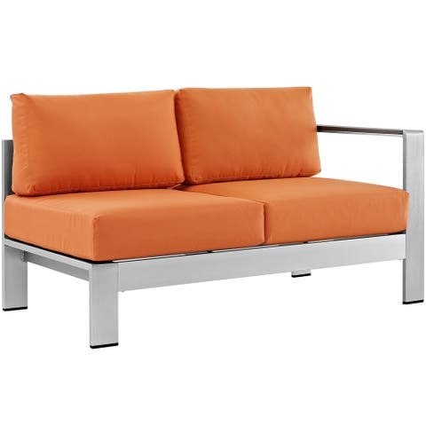 Beach Outdoor Patio Aluminum Loveseat