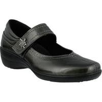Women's Spring Step Amparo Mary Jane Pewter Smooth Leather