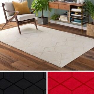Shop Hand Loomed Ridge Wool Area Rug 2 X 3 On Sale