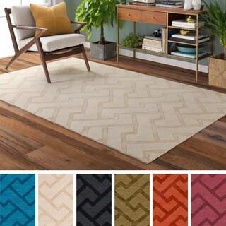 Hand-Loomed Ridgeway Wool Rug (9' x 13')